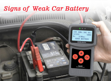 Signs of a Weak Car BatteryI