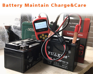 Battery Maintenance Charging and Care-Liquid, AGM and Gel