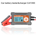2-120Ah/12V3A Smart Car Battery Tester&Charger CAT-200