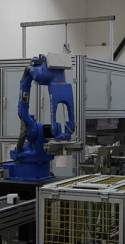 Automatic glazing line