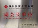 四川省商业联合会副会长单位