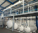 20Ton Waste Engine Oil to Base oil Distillation Equipment installed at Greece