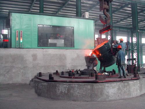 cast steel roll application