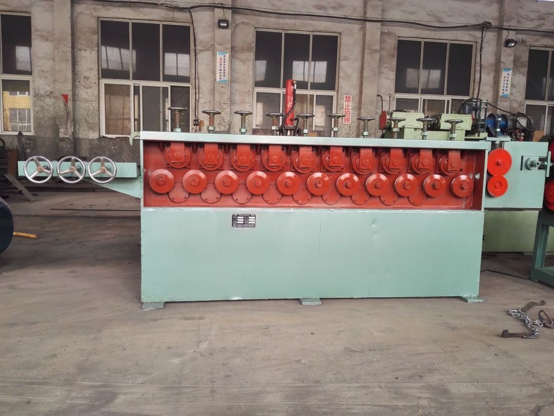 wire rod straightening machine