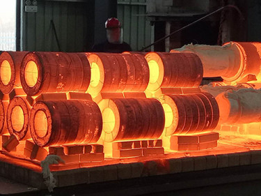 Quenching Process Of New Type Forged High Speed Steel Roll