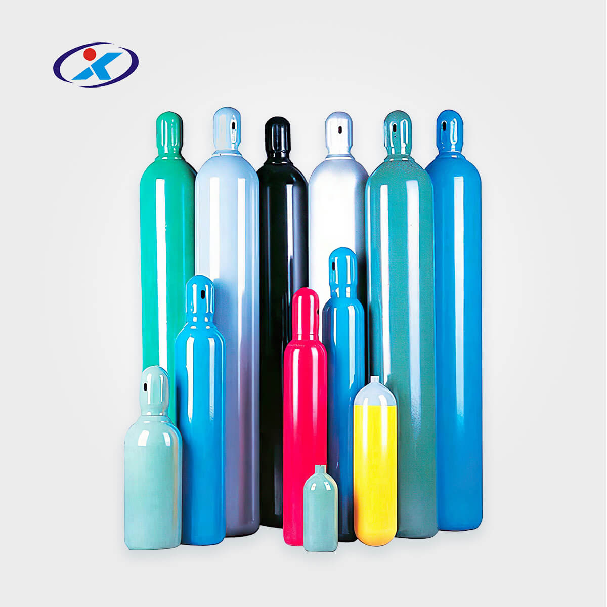 China 99.9% N2o Gas Filled in 8L Cylinder Gas with Valve