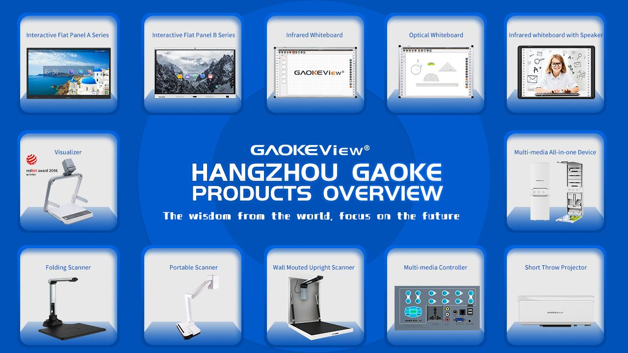 gaoke interactive whiteboard for education and conference