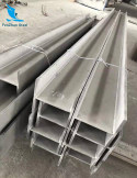 Miniature profiled shape bar stainless steel h beam