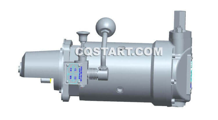 5 Series Cqstart Spring Starter For 1-4L Diesel Engine
