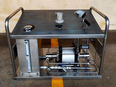 Portable Hydro Test Pump - WY-800W-J0Ato Saudi Arabia