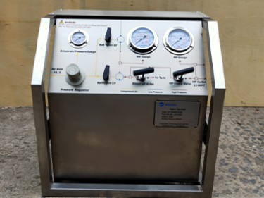 30000PSI Portable Hydro Test Pump Unit With Chart Recorder to Nigeria