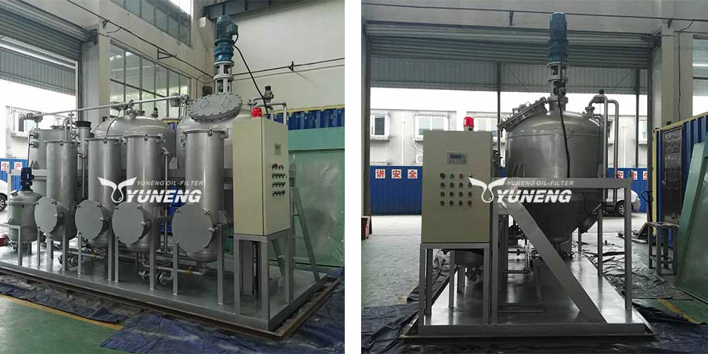 YNZSY-LTY Waste Tyre Pyrolysis Oil Refining Machine