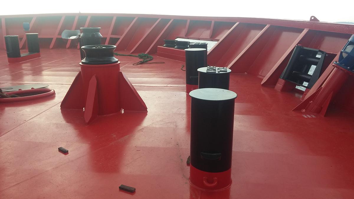 applications of ISO13795 welded steel marine bollard