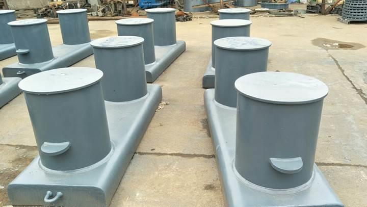 ISO13795 welded steel bollard