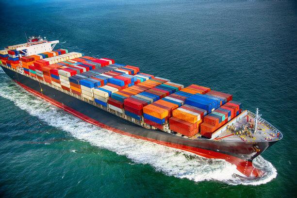 sea transport of life raft