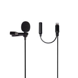 Bluetooth lavalier microphone for iPhone For better video recording