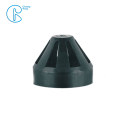 PN6 75mm 110mm 160mm HDPE Draining Fittings Siphon Permeable Cap