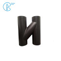 PN6 110mm 90 Plastic pipe HDPE Draining Fittings Siphon H tube
