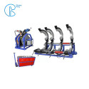 Electric Cutter 1200MM / 1600MM Pipe Welding Machine With Crane
