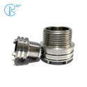 PPR PE Female And Male Union Fittings Use Stainless Steel Inserts