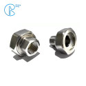 PPR Stainless Steel Inserts Female Threads Union Joint Fittings