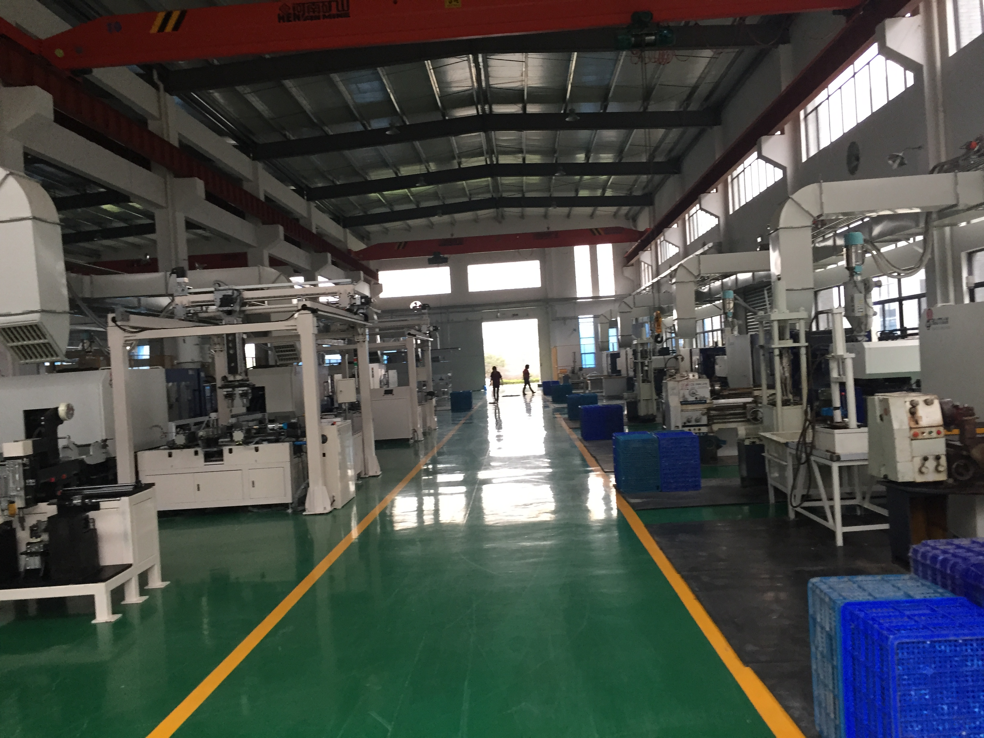 pp fittings production line