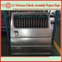 Middle sliding door for Hiace Van