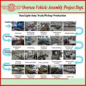 Production Line of Van, Truck & Pickup