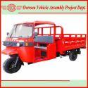 Gasoline/ CNG/ Diesel Cargo Tricycle