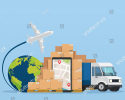 Airfreight + Courier Delivery