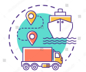 Sea freight & Truck Delivery