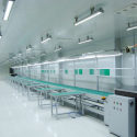 Assembly line (steel) with independent workbench 11m PCB belt conveyor for PCB manufacturing