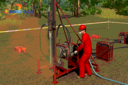 Mountain Geophysical Exploration Safety Technology Visible Animation System