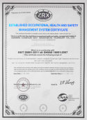 Passed 14001 certification