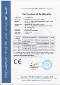 RF4432PRO-433 CE certification