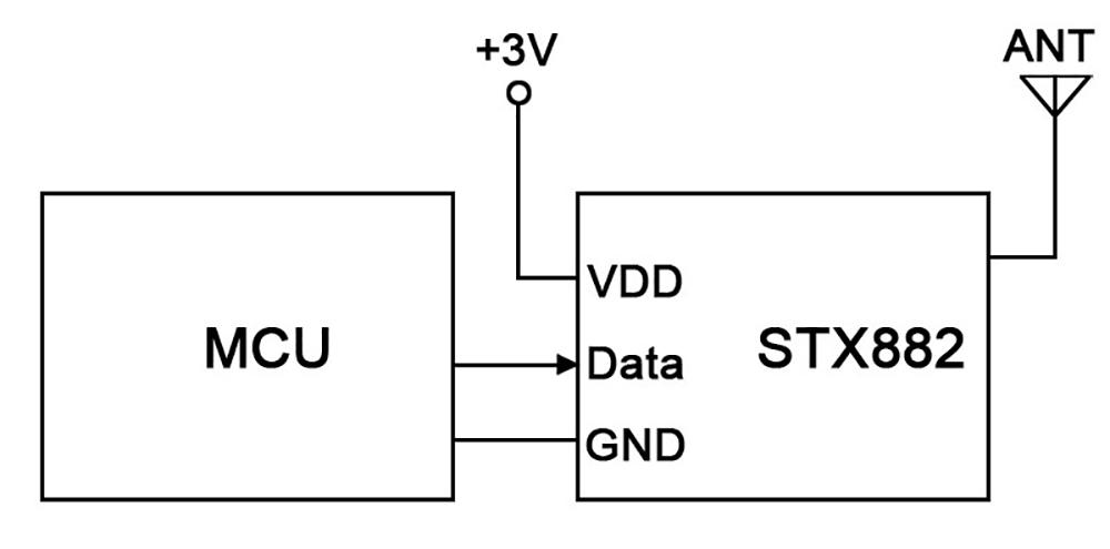 STX882 Connection Schematic