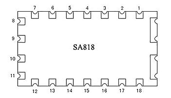 SA818 Pin definition