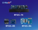 Low Power consumption 125Khz wireless air wake-up and data transceiver module RF125 is coming soon