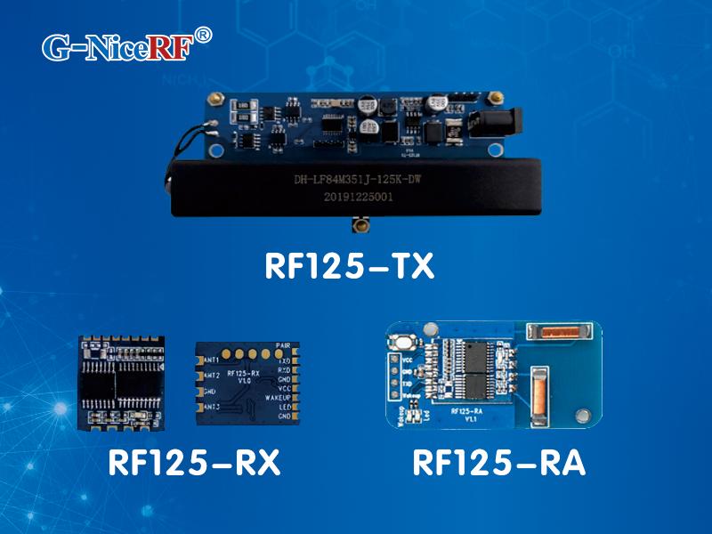 Low power wake up RF125