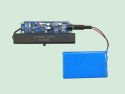 125KHz wireless air wake-up and data transceiver module RF125 distance test