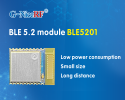 BLE 5.2 module using Silabs core chip BLE5201 is newly launched