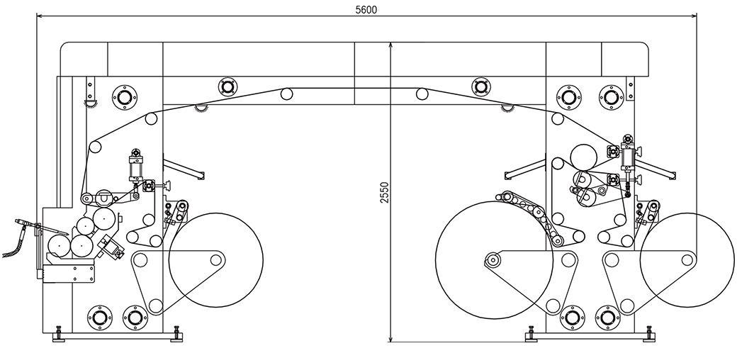 film flow of solvent-free composite