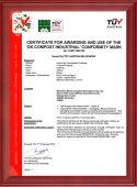 Bifrost OK-Compost-Industrial certification