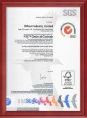 Bifrost FSC certication