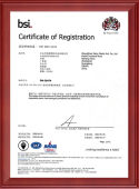 Bifrost ISO9001 certification