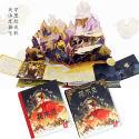 Mulan Treasure Commemorative 3D book for Christmas gift