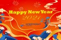 Happy New Year from Interfreight 华纳物流祝您新年快乐