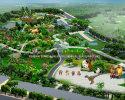 Dinosaur theme park design