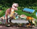 Dinosaur museum design