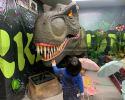 T-Rex Dinosaur Head(CP-1306)